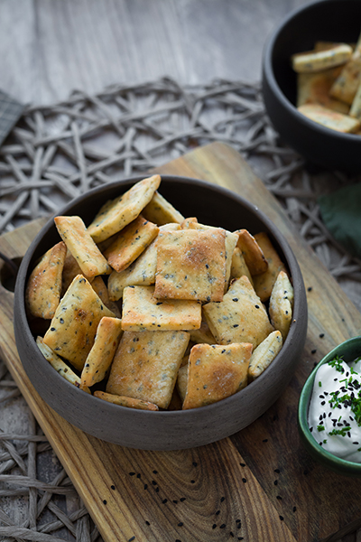 Fűszeres sós keksz