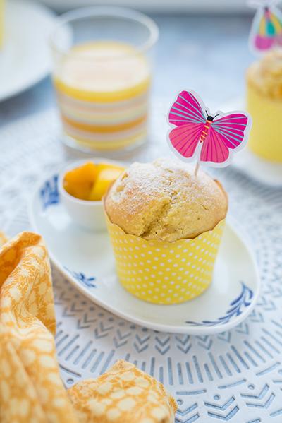 mangós kókuszos muffin